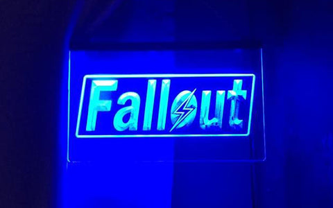FREE Fallout LED Sign -  - TheLedHeroes