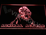 Admiral Ackbar LED Sign - Red - TheLedHeroes