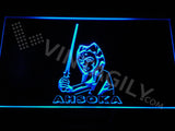 Ahsoka LED Sign - Blue - TheLedHeroes