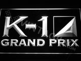 FREE K-1 Grand prix LED Sign - White - TheLedHeroes