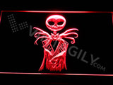 Nightmare Before Christmas Jack 3 LED Sign