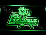 Kim Possible World Showcase Adventure LED Sign
