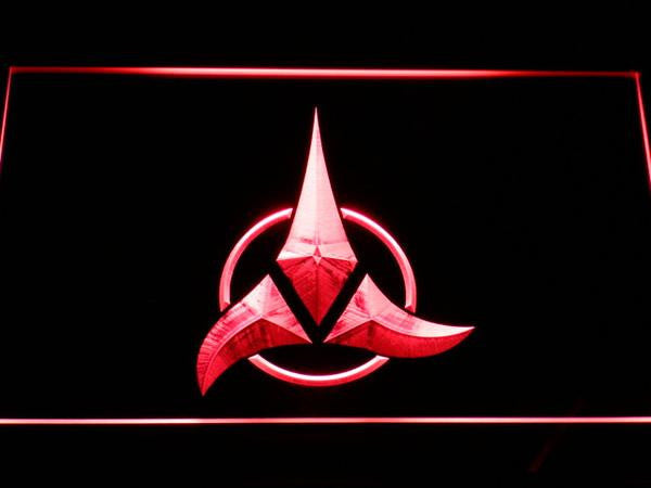 Star Trek Klingon LED Sign - Red - TheLedHeroes