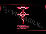 Fullmetal Alchemist LED Sign - Red - TheLedHeroes