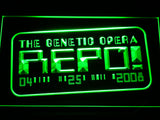 Repo The Genetic Opera LED Sign - Green - TheLedHeroes