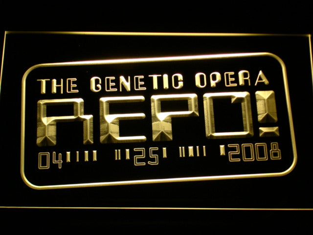 Repo The Genetic Opera LED Sign - Multicolor - TheLedHeroes