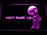 FREE The Hitchhiker's Guide To The Galaxy LED Sign - Purple - TheLedHeroes