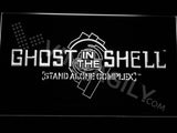Ghost In The Shell Stand Alone Complex LED Sign - White - TheLedHeroes