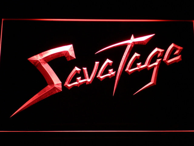 Savatage LED Sign -  Red - TheLedHeroes