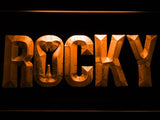 Rocky Boxing LED Neon Sign USB - Orange - TheLedHeroes