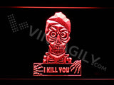 Achmed - Silence, I kill you LED Sign - Red - TheLedHeroes