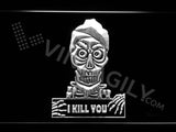 Achmed - Silence, I kill you LED Sign - White - TheLedHeroes