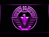 Stargate SG-1 Milky Way Glyphs LED Sign - Purple - TheLedHeroes