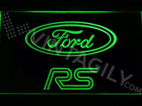 Ford RS LED Neon Sign USB - Green - TheLedHeroes