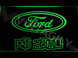 FREE Ford RS 2000 LED Sign - Green - TheLedHeroes