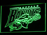 Buffalo Bandits LED Neon Sign Electrical - Red - TheLedHeroes