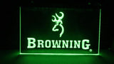Browning Firearms LED Neon Sign Electrical - Green - TheLedHeroes