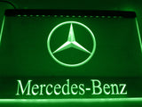 FREE Mercedes Benz 2 LED Sign - Green - TheLedHeroes