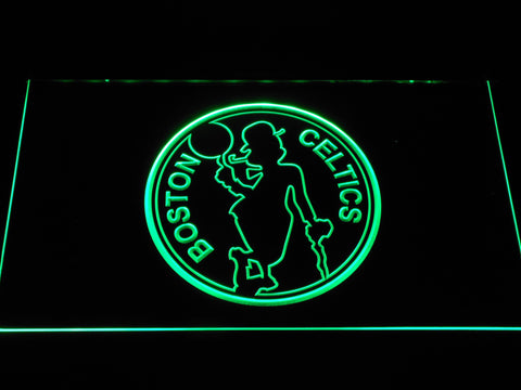 Boston Celtics 2 LED Sign - Green - TheLedHeroes
