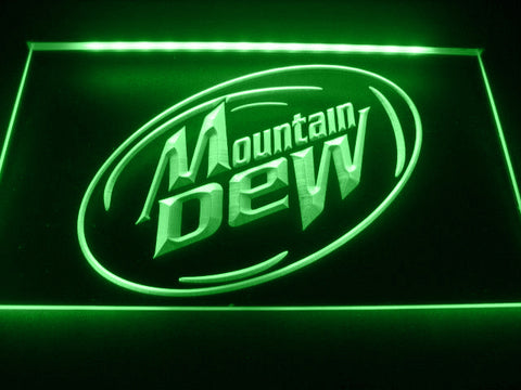 FREE Mountain Dew Energy Drink LED Sign -  - TheLedHeroes