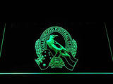 Collingwood Football Club LED Neon Sign USB - Green - TheLedHeroes