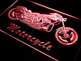 Motorcycle Bike Sales Services LED Sign - Red - TheLedHeroes