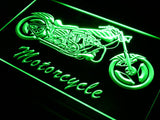 Motorcycle Bike Sales Services LED Sign - Green - TheLedHeroes