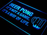 Beer Pong A Way of Life LED Sign