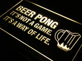 Beer Pong A Way of Life LED Sign - Multicolor - TheLedHeroes