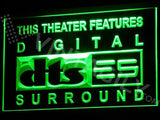 DTS - Digital Surround LED Neon Sign USB - Green - TheLedHeroes