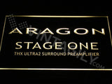 Aragon Stage One LED Sign - Yellow - TheLedHeroes
