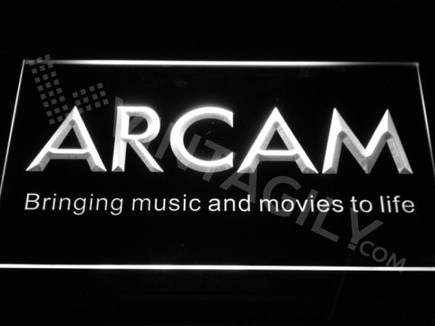 FREE Arcam LED Sign - White - TheLedHeroes