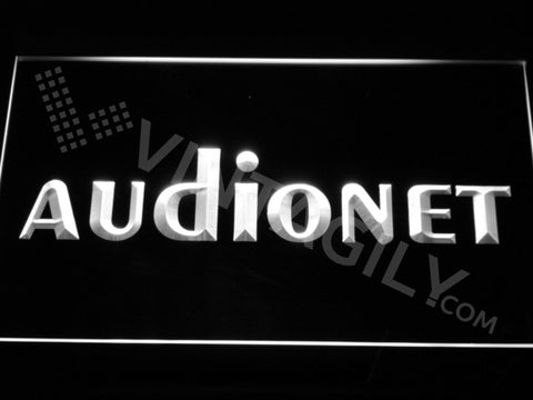 FREE Audionet LED Sign - White - TheLedHeroes