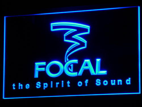 Focal Audio Speaker Theater LED Sign - Blue - TheLedHeroes
