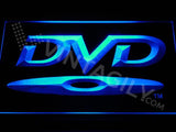 DVD Disc LED Neon Sign USB - Blue - TheLedHeroes