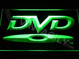 DVD Disc LED Neon Sign USB - Green - TheLedHeroes