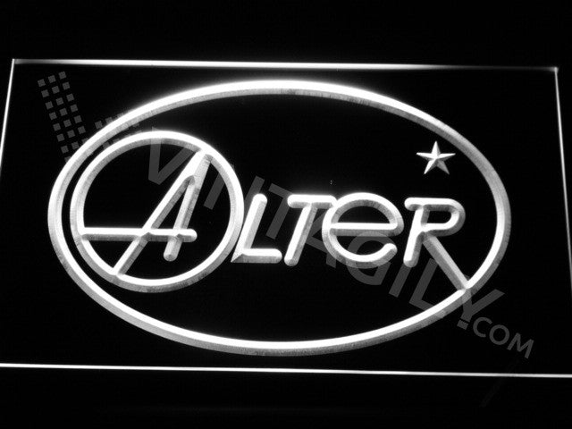 Alter LED Sign - White - TheLedHeroes