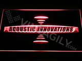 Acoustic Innovations LED Sign - Red - TheLedHeroes