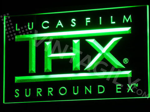 FREE Lucas Film THX Sound LED Sign - Green - TheLedHeroes