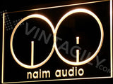 FREE Naim Audio LED Sign - Yellow - TheLedHeroes