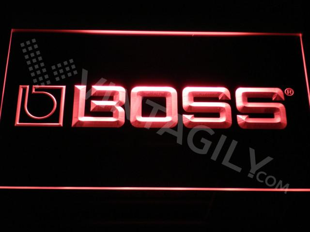 Boss Hifi LED Neon Sign USB - Red - TheLedHeroes