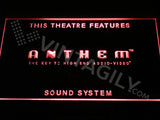 Anthem Sound System LED Sign - Red - TheLedHeroes