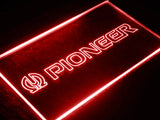 Pioneer Audio LED Sign - Red - TheLedHeroes