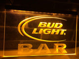 Bud Light Bar LED Neon Sign Electrical - Yellow - TheLedHeroes