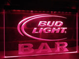 Bud Light Bar LED Neon Sign Electrical - Purple - TheLedHeroes