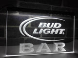 Bud Light Bar LED Neon Sign Electrical - White - TheLedHeroes