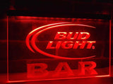Bud Light Bar LED Neon Sign Electrical - Red - TheLedHeroes