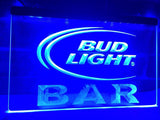Bud Light Bar LED Neon Sign Electrical - Blue - TheLedHeroes