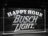 FREE Busch Light Happy Hour LED Sign - White - TheLedHeroes