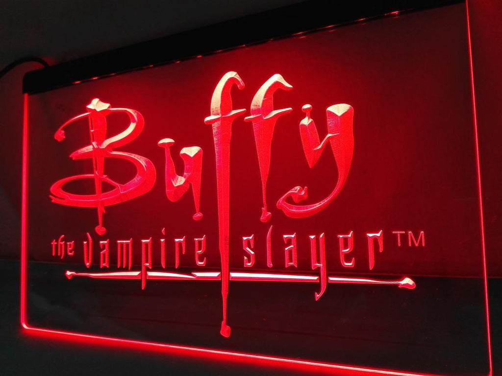 Buffy the Vampire Slayer LED Neon Sign Electrical - Red - TheLedHeroes